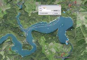 Edersee Trainingsstrecke